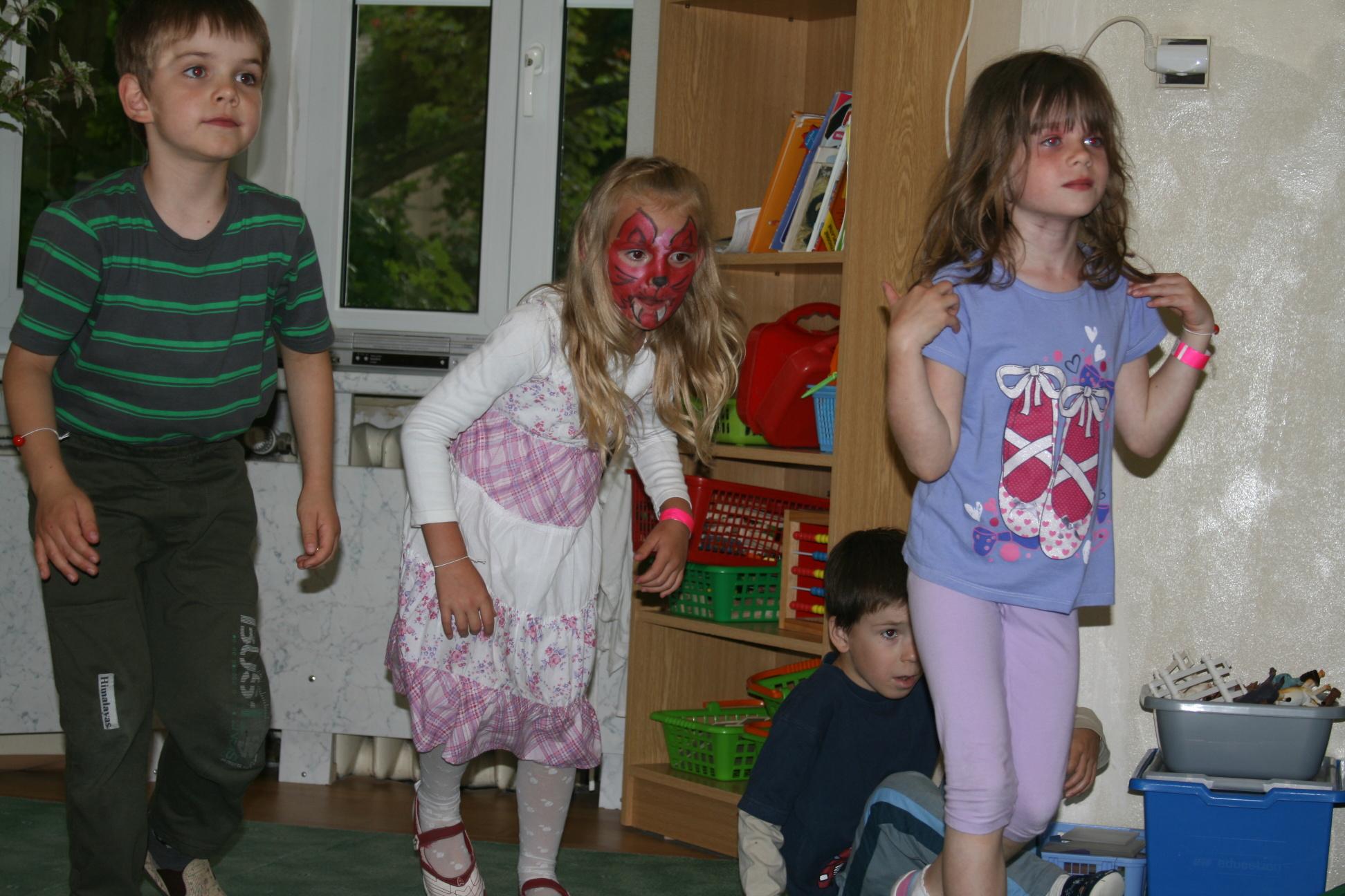 Děti vyzvedli rodiče zážitků na vyprávění měly děti víc